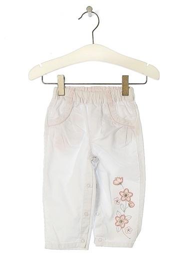 Asymmetry Pantolon Beyaz
